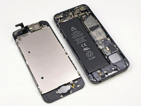やっと!iPhone5のバッテリー交換が完了しました◎