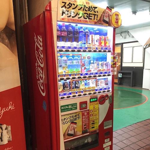 スマホ自販機と『Coke ON』アプリを接続してシュシュっとコカコーラをゲットしてきたよ!!