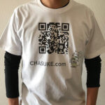 ユニクロでQRコード付きのオリジナルTシャツを作ってみた